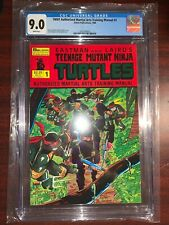 Teenage Mutant Ninja Turtles Training Manual #1 1986 CGC 9.0 TMNT Eastman Laird