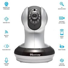 Vimtag Wireless 720p HD IP WiFi Network Home Video Security Surveillance Camera