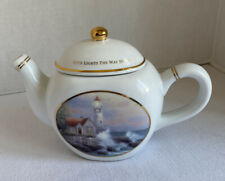 Teapot Thomas Kinkade Beacon Of Hope 2005 Gregg Gift Co China