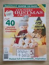 Handmade~Vol 21 #6~Country Xmas Crafts~40+ Projects~2004