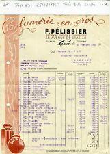 Dépt 69 - Lyon 38 Avenue de Saxe - Très Belle Entête Secteur Parfumerie de 1943