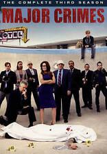 Major Crimes: The Complete Third Season (DVD, 2015, 4-Disc Set) NEW
