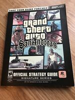 Grand Theft San Andreas Brady Games Strategy Guide