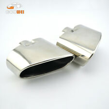 Stainless Steel Rear Exhaust Tips Muffler Pipe Fit for BMW X5 E70 Pre-LCI 07-09