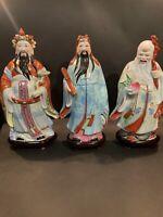 3 Set Vantage Chiense Porcelain Plastic