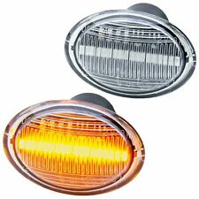 LED Indicators for All Fiat 500, 500C, 500L Since 2007- Clear Glass [72405]
