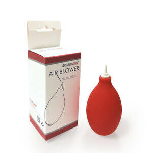 Air Blower for Hearing Aids Mini Squeeze Ball Pump Duster Ear mold Dust Cleaner
