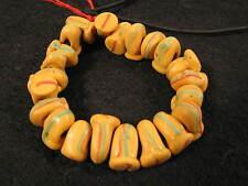 22 alte Handelsperlen Glasperlen Old rare venetian African trade beads Afrozip