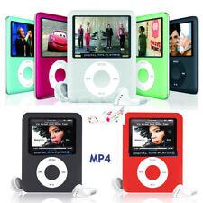 Slim 1.8″ LCD 16GB MP4 MP3 Music Media Video Player FM-Radio Recorder Games-UK
