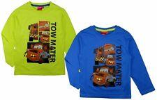 Cars Shirt langarm 104 110 116 122 128 134 Langarmshirt Pullover Junge Disney