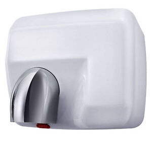Aquarius Storm Hand Dryer White