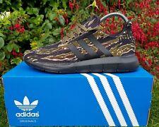 ❤ BNWB & Authentic Adidas Originals ® Swift Run Cargo Camo Trainers UK Size 9