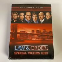 LAW & ORDER: SVU / LAW & ORDER: SPECIAL VICTIMS UNIT - FIRST YEAR - DVD (NEW)