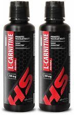 L-Carnitine Liquid 1100mg - Fat Burner Loss, Endurance, Energy, Muscles - 2 Bot