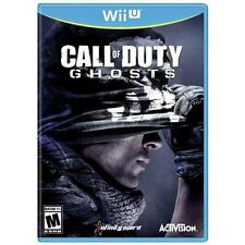 CALL OF DUTY: GHOSTS -WII U- NEW DVD