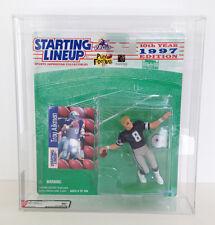 Troy Aikman Dallas Cowboys NFL Action Figure AFA Graded 80 Kenner 1997 Edition