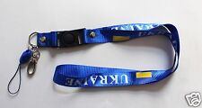 Ukraine Keychain Lanyard Ukrainian Flag Light-Blue Color Football Soccer