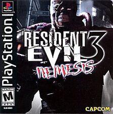 Resident Evil 3: Nemesis (PlayStation 1, 1999)