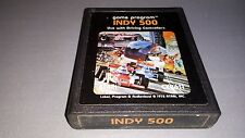 INDY 500  - GAME - ATARI  -CX 2611 -1978