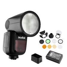 Godox V1-F Camera Flash Speedlite AK-R1 Barn Door Kit F Fujifilm X-T3 E1 E3 T20