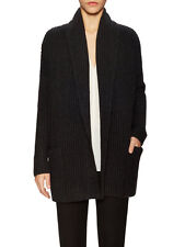 V698 NWT VINCE RIB WOOL SHAWL COLLAR WOMEN OPEN CARDIGAN SIZE XS in N $495