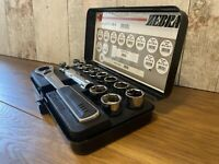 Wurth Zebra Genuine Pass-through ratchet assortment, 14 PC Mechanic Tool Kit Set