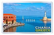 CHANIA GREECE FRIDGE MAGNET SOUVENIR IMAN NEVERA