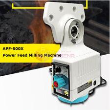 110v Milling Machine X Axis Power Feed Power Table Feed Apf 500x