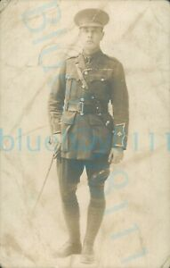 WW1 South Wales Borderers Soldier Studio photo worn see photos