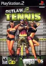 PS2 Outlaw Tennis Video Game online multiplayer sports gangs pinball ping-pong