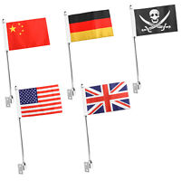 Motorcycle Luggage Rack Mount Flag Pole For Indian Chief Classic Dark Horse New