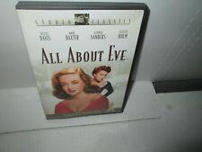 All About Eve 1950 Classic dvd Bette Davis Academy Award Mint
