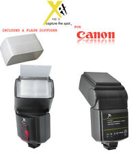 XIT Dedicated & Slave Speedlite Flash for CANON T5i 700D T4I 650D T3i 600D SL1