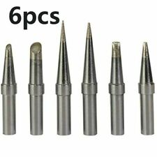 6xreplacement Et Soldering Iron Tips For Weller We1010na Wesd51 Wes5051 Kits Us
