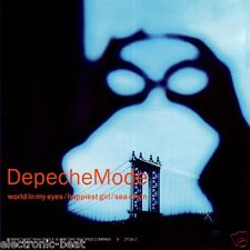 DEPECHE MODE World In My Eyes w OIL TANK MIX + Sea Of Sin & Happiest Girl CD