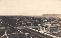 C78/ Lake City Minnesota Mn Real Photo RPPC Postcard 1919 Birdseye View Homes