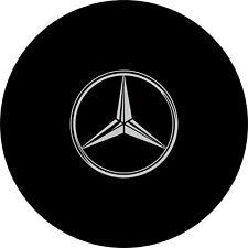 4x4 Spare Wheel Cover 4 x 4 Camper Graphic Vinyl Sticker Mercedes Benz 4 x 4 56C