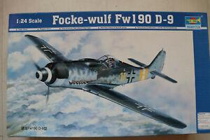 Fucke Wulf Fw 190 D-9 1:24 TRUMPETER