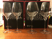 Riedel Vitis Riesling (2x) & Pinot Noir/Nebbiolo (2x)