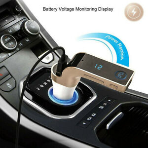 Car MP3 Player Hands-free FM Transmitter Wireless Bluetooth-Compatible Radio