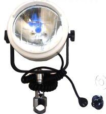 NEW DECK SPOT LIGHT MARINE 360 DEG ROTATION RAIL MOUNT BOAT RIBS