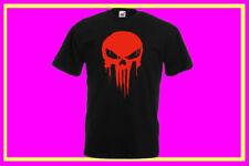 Fruit of the Loom Herren-T-Shirts mit Totenkopf-Motiv