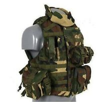 Mil-tec OTV Outer Tactical Vest militaire Paintball Airsoft Mag Transporteur CCE