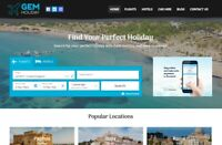 GemHoliday.com - Travel Agency Website - Website Ready & Easy to Manage!