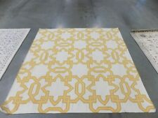 Safavieh Yellow / Ivory 6'x 6' Square Damaged Rug, Reduced Price 1172554734
