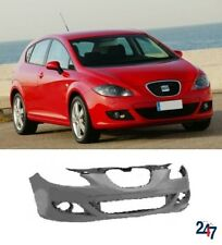 NEW SEAT LEON 2005 - 2010 FRONT BUMPER WITH FOG LIGHT HOLES PRIMED