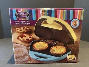 Electric Pie Bakery Machine Nostalgia Electrics Cooker Baker Pot Pies Countertop
