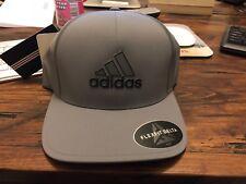 5f01da9c9ce NEW Adidas Golf Men sDelta FLEXFIIT Cap- S M in Grey