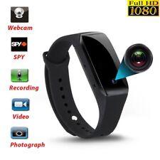 1080P 32GB Spy Hidden video Camera Wrist Watch IR Waterproof NYPR@