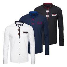 Figurbetonte Herren-Freizeithemden & -Shirts aus Baumwollmischung